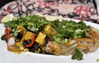 Taco Tofu Breakfast Scramble