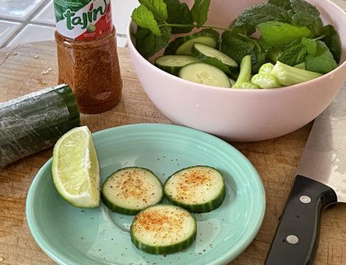 Cucumber & Tajín Bites